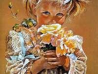 fata cu flori - m ....................