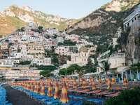En vacker italiensk stad
