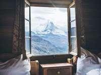 In Zermatt. - Landschap puzzel.