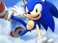 Sonic in the Air - Possiamo vedere una foto di Sonic