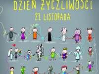 Den laskavosti - U příležitosti Dne laskavosti sestavte puzzle. Hodně štěstí