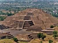 Teotihuacan - Teotihucan Mexikó piramisa
