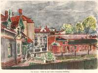 Προβολή παραθύρου - Ο πίνακας ζωγραφίστηκε από τον Φιν Ννύντσεν - έναν Νορβ