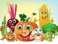 grönsaker - animerade grönsaker för barn