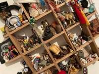 Setzkasten - saker jag samlade runt om i världen