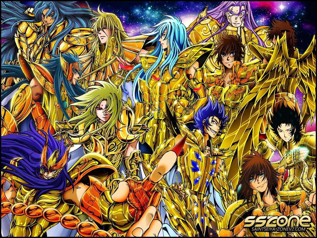 Saint Seiya Ο χαμένος καμβάς - Χρυσός (14×11)