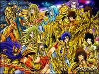 Saint Seiya A tela perdida - Ouro