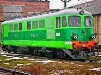 Locomotiva ST43 - LOCOMOTIVA ST43 IN PIEDI NEL DEPOSITO