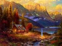 Huis in de bergen - m .......................