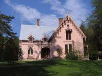 palazzo in stile gotico in inghilterra