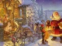<<Zima>> - Zima. Boże Narodzenie.