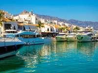 Città di Marbella nel sud della Spagna - Città di Marbella nel sud della Spagna