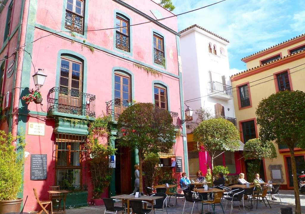 Marbella stad i södra Spanien
