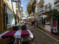 Cidade de Marbella no sul da Espanha - Cidade de Marbella no sul da Espanha