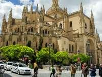 Град Авила в Испания