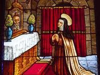 Vitral Santa Teresa de Ávila