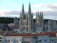 Cattedrale di Burgos in Spagna - Cattedrale di Burgos in Spagna