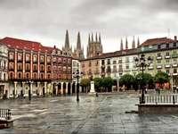 Città di Burgos in Spagna - Città di Burgos in Spagna
