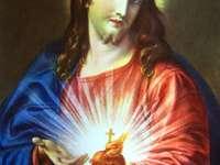 Nejsvětější Srdce Ježíšovo (obraz Pompeje Batoni)