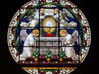 St. James e St. Agnieszka em Nysa - Basílica de São st. Tiago o Apóstolo e São Inês, Virgem e Mártires em Nysa é o maior edifíci