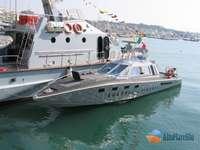 Drago -gdf- V400 motocicletă rapidă în Italia - barca de patrulare a Guardia di Finanza Italia