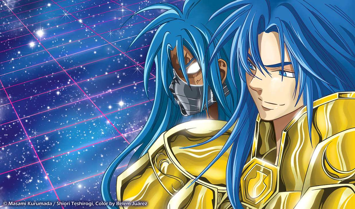 Saint Seiya Lost Canvas Aspros Deuteros - Saint Seiya Aspros Deuteros - The Lost Canvas - gemini (15×9)