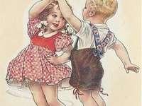 náš první taneček v mládí