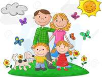 MY FAMILY - THE FAMILY IS THE FUNDAMENTAL BASIS IN THE HOME