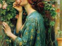 john-william-waterhouse-de geur van rozen