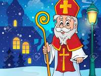 SAINT NICHOLAS - Match the puzzle pieces so that you can reconstruct the image of Nicolae.