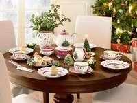 ένα γιορτινό τραπέζι
