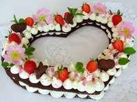 bolo de coração - m ...................