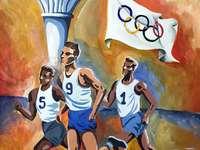 Olympische Spelen - Symbolen, atleten, olympische spelen