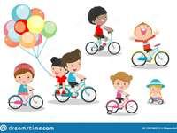 Ποδήλατο παζλ για το εκπαιδευτικό - Ποδήλατο παζλ για το εκπαιδευτικό