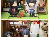 Merry Christmas! - Itachi and Sasuke celebrate Christmas