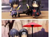 Sasuke and Itachi eat sweet dangos - Sasuke and Itachi eat sweet dangos
