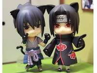 Sasuke and Itachi in cat mode - Sasuke and Itachi in cat mode