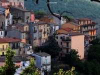 rohu Calitri AV Italia - roh historického centra Calitri Avellino Kampánie Itálie