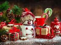 Rompecabezas de Octave - Porque la Navidad es más que una cita, también es un ambiente y un amor que queremos compartir.