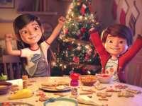 Natal uma noite especial - quebra-cabeça sobre a mágica história de Natal