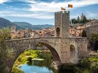 Girona Stadt in Spanien