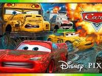 Disney- Αυτοκίνητα - Συγκεντρώστε το παζλ.