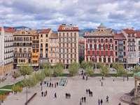 Ville de Pampelune en Espagne