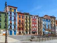Pamplona city in Spain