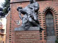 Svatý. Jana Křtitele ve Štětíně - Svatý. Jana Křtitele ve Štětíně - novogotický halový kostel s latinským křížovým pláne