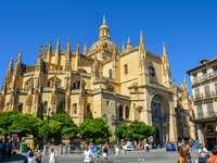Město Segovia ve Španělsku - Město Segovia ve Španělsku
