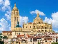 Segovia stad i Spanien - Segovia stad i Spanien