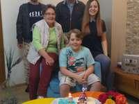 Famille de Stefaniei - L'anniversaire de Mert.
