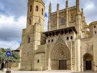 Huesca katedrála Santa Maria - Huesca katedrála Santa Maria