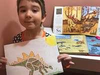 Răzvan et les dinosaures - Răzvan est fasciné par le monde perdu.
